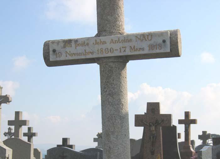 tombeau de J-A Nau